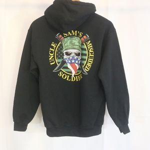 Uncle Sam's Misguided Soldier Men's S Hoodie